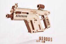 Assault Rifle Gun Wooden Model - Toy Gun, Guns for Kids - 3D Wooden Puzzle