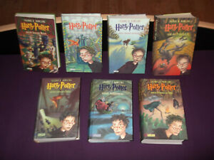 Harry Potter; Bücher Band 1 - 7, gebunden, deutsch (Joanne K. Rowling)