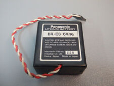 BRE3  -  PANASONIC  -  BR-E3  /  Lithium battery  6V   USED