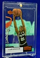 TIM DUNCAN UPPER DECK SLAM ACETATE BRONZE LABEL SP RARE SPURS HALL OF FAME