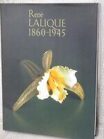 RENE LALIQUE 1860-1945 Art Nouveau Deco Antique Glass Photo Book Ltd Japonism