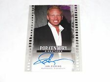 2011 Pop Century IAN ZIERING Silver Autograph/25 SHARKNADO - Beverly Hills 90210
