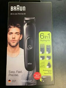 New BRAUN ALL-IN-ONE TRIMMER