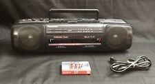 Vintage Panasonic Rx-Ft500 Dual Cassette Radio Boombox