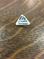 Albertsons Grocery Store 13 Year Employee Service Pin