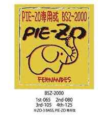 Fernandes BSZ-2000 ZO-3 Bass / PIE-ZO Strings Free Shipping for PIE-ZO ZO-3 Bass