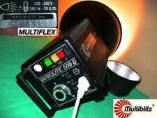 MULTIBLITZ VARIOLITE 500 S BLITZ FLASH Studio Foto Leuchte Fotostudioausstattung