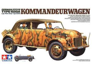 Tamiya Model 35235 1/35 WWII German Steyr 1500A Kommandeurwagen Car