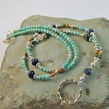 Loop Style Eyeglass Holder Lapis Sodalite Rose Quartz Chalk Turquoise EG1118