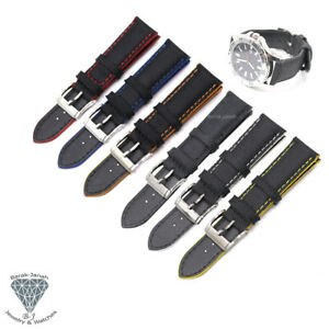Colors Canvas Straps For IWC and For Panerai Watch Band with Buckle + Tools