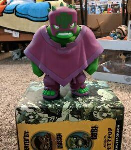 "Muttpop Tequila 2.0 Incredible Hulk Edition Lucha Libre LE400 8"""