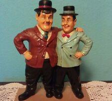 """Vintage Laurel & Hardy Figurines 12"""" high RARE"""
