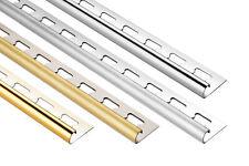 Rundprofil 10mm Fliesenschienen Edelstahl C-Profil Viertelkreisprofil 10 Meter