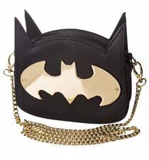 Officially Licenced Ladies Batman 'GOTHAM GOLD' Cross Body Bag