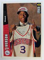 1996 96 UPPER DECK Collectors Choice ALLEN IVERSON ROOKIE RC #301, 76ERS