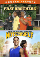 Frat Brothers / Note to Self Double Feature [New DVD]