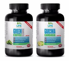 antioxidant with vitamin - GREEN COFFEE CLEANSE – GARCINIA CAMBOGIA COMBO 2B - g