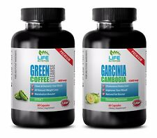 antioxidant and immunity - GREEN COFFEE CLEANSE – GARCINIA CAMBOGIA COMBO 2B - g