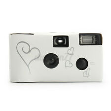 Hearts Disposable Camera Pack of 10/20 with Flash 36exp for Bridal Wedding