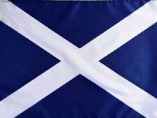 3ft x 2ft Navy Blue Scottish Saltire St Andrew Scotland National Flag