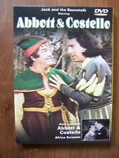 ABBOTT & COSTELLO - TWO CLASSIC FILMS ON DVD - JACK & THE BEANSTALK