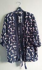 Coats, Jackets & Vests Fine Oasis Womens Jacket Blazer Rrp£65.00 Uk10 Black Red Pink Floral Open Front
