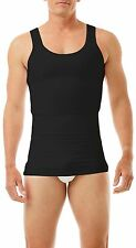 Mens Compression Body Shirt Top Comfort Control Fit Slimming Underwear For Gents