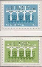 Nederland Europa 25 jaar CEPT 1984 1307-1308 (Mi 1251a-1252a) - Postfris MNH