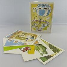 Postkartenserie: 10 Postkarten mit Zeichnungen, Militärverlag der DDR, so323