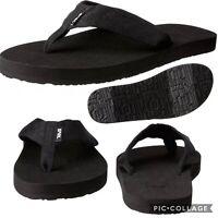 Teva Mush II Flip Flops Sandals Thongs Women's 6 Black EVA Lightweight Foam NWT