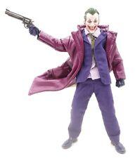 Purple Long Leather Coat for Mezco Joker (No Figure)