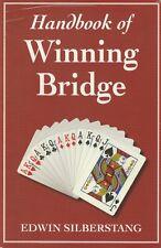 BRIDGE CARDS- HANDBOOK OF WINNING BRIDGE Edwin Silberstang **GOOD COPY**