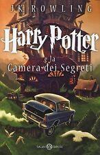 LIBRO HARRY POTTER E LA CAMERA DEI SEGRETI J. K. ROWLING RILEGATO