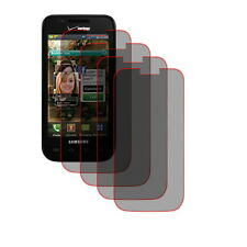 4 Clear Screen Protector Samsung Fascinate Verizon i500