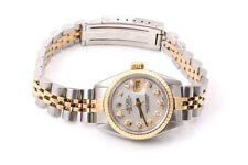 Rolex Ladies 18K/SS Datejust - Mother Of Pearl Diamond Dial  - Jubilee Band