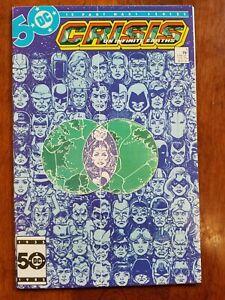 CRISIS ON INFINITE EARTHS #5 DC COMICS  1 COMIC BOOK LOT  1985