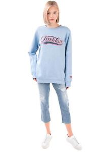 NIKE Sweatshirt Size S Coated Front Embroidered Logo Long Sleeve Crew Neck
