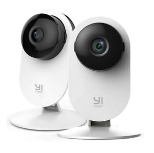 YI 2pc Home Camera, 1080p Wireless IP Security Surveillance System Night Vision