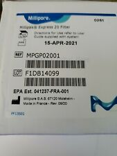 Millipak Express 20 0.22um Final Particulate Membrane Filter Assembly MPGP02001