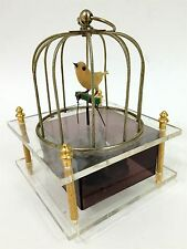 Vintage Made in Japan Bird Cage Mini Music Box