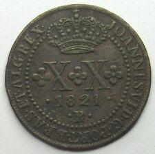 - BRESIL - 20 Reis - 1821 R -