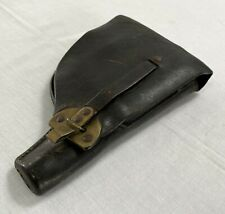 Vintage Portuguese ARMY / POLICE GNR WALTHER P38 leather holster to repair