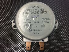SHARP  MICROWAVE TURNTABLE MOTOR SM16 HK36M2H3 RMOTDA253WRZZ R350H SHMW253