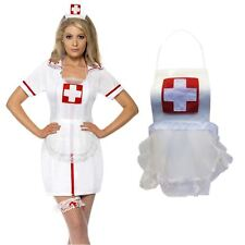 Adult Ladies Sexy Hospital Nurse Lingerie Underwear Night Dress Roleplay Costume