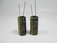 3pcs Japan Nichicon 1000uF 25V KZ MUSE series Fever audio electrolytic capacitor