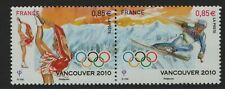 France Stamp 2010  SG MS 4747-4748 Winter Olympic Games Vancouver Mint MNH