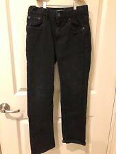 98001c147f Lote de 3 Niños Jeans Talla 10 Urban Star Stretch cintura de la Lavado  Oscuro Azul Negro Nuevo