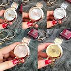 Fashion Women Men Cute Bear Watch Luxury Digital Stainless Steel Wristwatch NEW