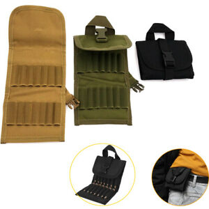 Tactical 14 Rounds Molle Ammo Pouch Molle Shotgun Bullet Shell Holder Foldable