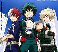 New ODD FUTURE UVERworld CD My Hero Academia Limited Edition  Anime